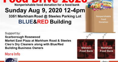 The Tamil Journal  நேரடி ஒளிபரப்பு Live:  Food Drive  @3352 Markham Road @ Steeles