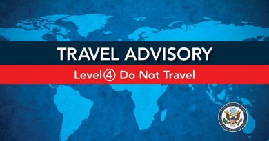 U.S. government – Do not travel to Sri Lanka due to COVID-19. Exercise increased caution in Sri Lanka due to terrorism