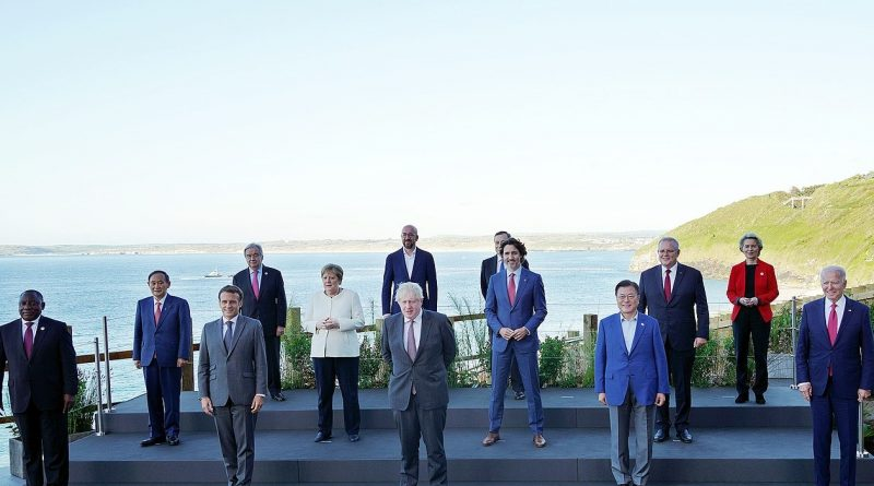 இங்கிலாந்தில் G20 Summit தொடங்கியது 11–13 June 2021 உலக தலைவர்கள் முதன்முறையாக நேரில் சந்திப்பு