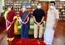 Congress President Smt. Sonia Gandhi இன்று Tamil Nadu Chief Minister சந்தித்தார்
