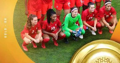 Tokyo 2020 கனடா முதல் முறையாக women's soccer தங்கப் பதக்கத்தை வென்றுள்ளது