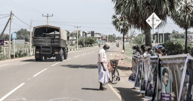 Sri Lanka-Protest was held in Mullaitivu